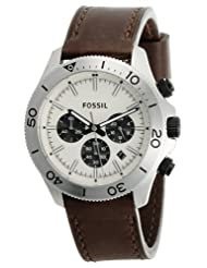 Fossil Chronograph White Dial Men's Watch - CH2886