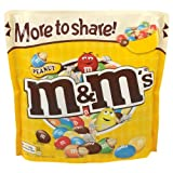 M&M's Peanut Large Pouch 4x315g