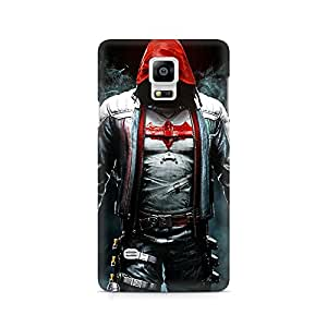 Mobicture Redhood Equipment Premium Printed Case For Samsung Note 4 N9108