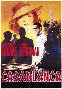 Casablanca poster movie italian 11x17 humphrey bogart ingrid bergman paul henreid for Poster casablanca