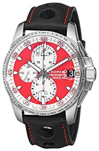 Chopard Men's 168459-3036 LBK Miglia Gran Turismo Red Chronograph Dial Watch