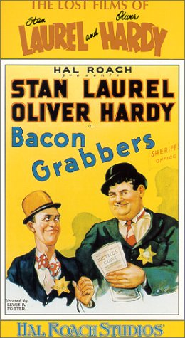 Laurel & Hardy: Bacon Grabbers [VHS] [Import]