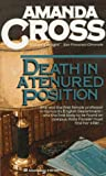 Death in a Tenured Position (Kate Fansler Novels) (0345340418) by Cross, Amanda
