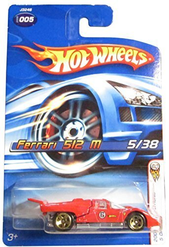 Hot Wheels 2006-005 First Editions Ferrari 512M 05/38 1:64 Scale - 1