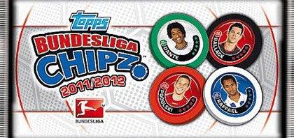 Topps TO60190 - Topps - Bundesliga Chipz 2011/2012 Päckchen