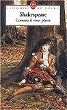 echange, troc William Shakespeare - Comme il vous plaira