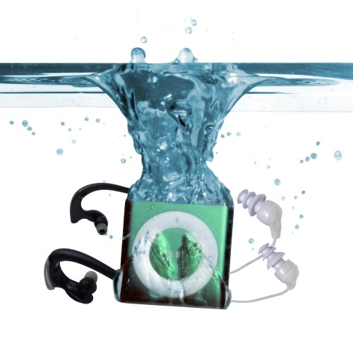 Underwater Audio Waterproof Ipod Mega Bundle (Green)