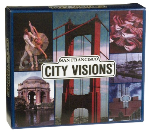 Pocket City Visions, The Photographic Card Game & City Guide Travel Edition: San Francisco - 1