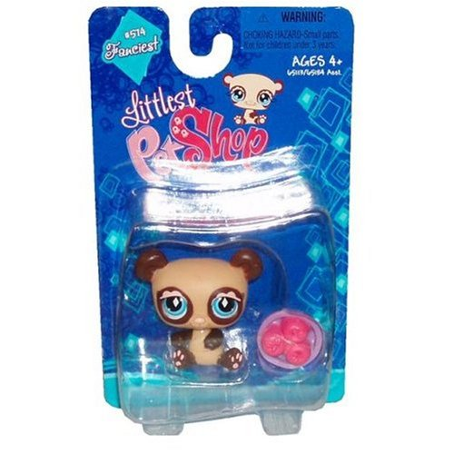 Buy Low Price Hasbro Littlest Pet Shop Fanciest Figure Panda with Apple Basket (B0015V66LU)
