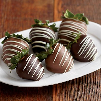 Triple Hand Dipped Chocolate Covered Strawberries