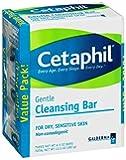 Cetaphil Cleansing Bar, 4.5 oz, 3 pk