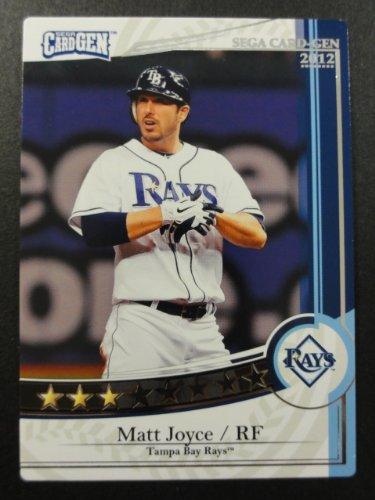 【SEGA CARD GEN MLB】セガ カードジェンMLB 2012 白カード J12-158 マット・ジョイス