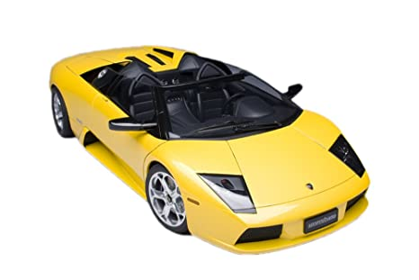 Lamborghini Murcielago Raodster in Metallic Yellow in 1:18 Scale [Toy] (japan import)