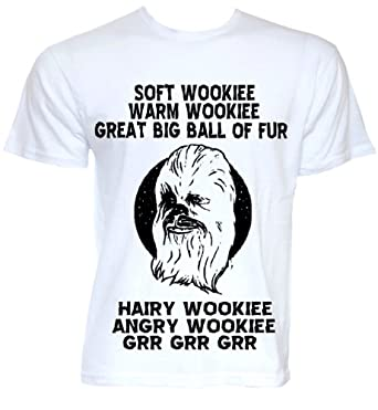 STAR WARS THE WOOKIE FUNNY 'SOFT KITTY' THE BIG BANG THEORY MASHUP MEN'S T-SHIRT (XX-LARGE)