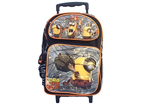 New-2015-Despicable-Me-Crominion-Large-Roller-Backpack