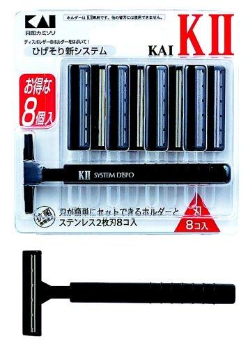 KAI K2 替刃8個付