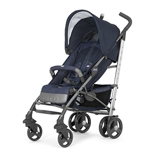 Chicco 05079548090000 Lite Way 2 Top Bb Passeggino, Jeans