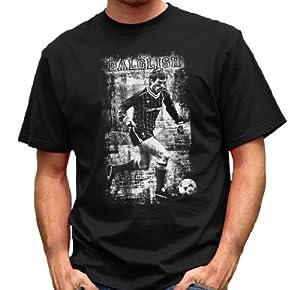 Kenny Dalglish T-shirt Xxxxx-large Blackprint