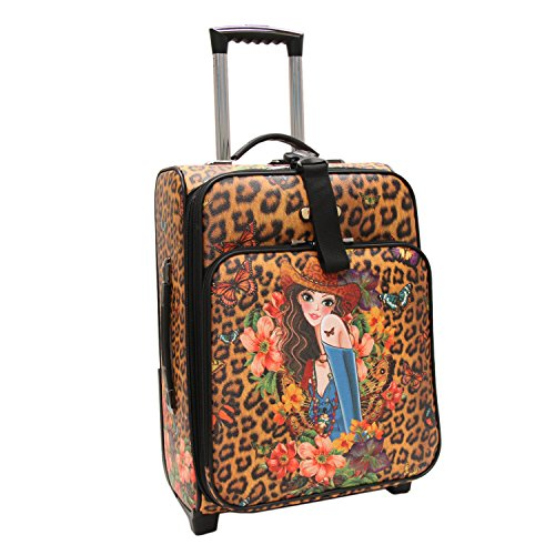 nicole-lee-cleo21-inch-expandable-rolling-carry-on-sandra-camel-one-size