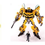 7 Weapons Bumblebee Figure Transformers with Sam Action Figure Garage Kits