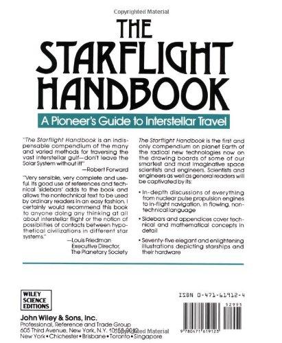 The Starflight Handbook: A Pioneer's Guide to Interstellar Travel (Wiley Science Editions)