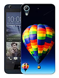 """Humor Gang Hot Air Balloon In The Sky Printed Designer Mobile Back Cover For """"HTC DESIRE 626"""" (3D, Matte, Premium Quality Snap On Case)"""