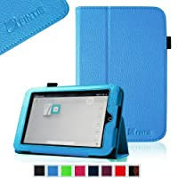 FINTIE Slim Fit Folio Case for Barnes & Noble Nook HD 7 Tablet (Support Auto Sleep/Wake Function) - Blue from FINTIE