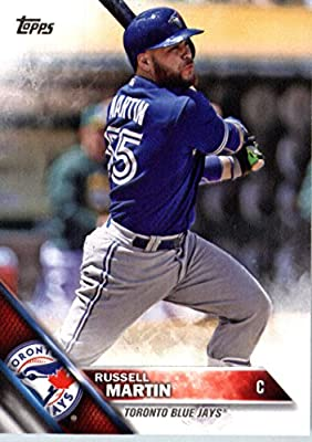 2016 Topps #261 Russell Martin Toronto Blue Jays Baseball Card