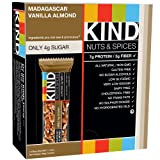 KIND Nuts & Spices, Madagascar Vanilla Almond, 12-Count Bars