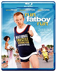 NEW Pegg/newton/azaria - Run Fat Boy Run (Blu-ray)