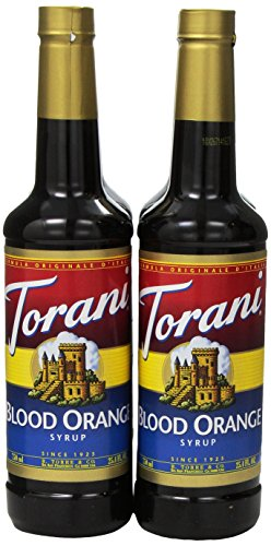 Torani Syrup, Blood Orange, 25.4 Ounce (Pack Of 4)