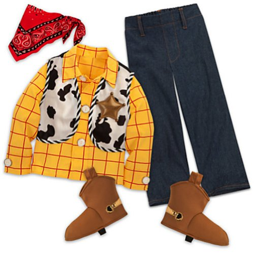 Disney Store Toy Story 3 Sheriff Woody Costume for Boys Size Small 5/6