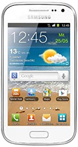 Samsung Galaxy Ace 2 I8160 Smartphone (9,7 cm (3,8 Zoll) Touchscreen, Dual-Core, 800MHz, 768MB RAM, 4GB, 5 Megapixel Kamera, Android 2.3) ohne NFC weiß