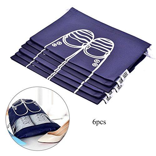 yazer-sac-de-rangement-pour-chaussures-bleu-bleu-marine-32cm44cm-6pcs