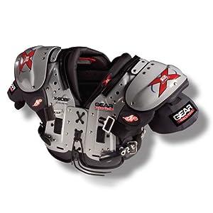 Buy Gear Pro-Tec X2 AIR X-SOBF OL DL DE TE Football Shoulder Pads by Gear Pro-Tec
