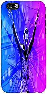 Snoogg Xtzz Designer Protective Back Case Cover For Apple Iphone 6+ / Plus