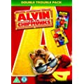 Alvin and the Chipmunks 1 and 2 Double Pack [DVD]