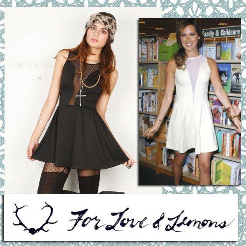 [フォーラブアンドレモンズ] For love & lemons セクシーLulu dress