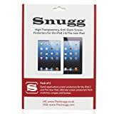 Snugg iPad High Transparency Screen Protectors (pack of 2) – Includes Microfiber Cloth and Anti Bubble Leveller – Compatible with iPad 2, 3 & 4