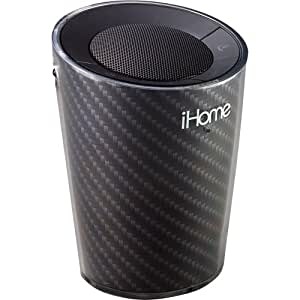 iHome Cupholder Portable Bluetooth Speakerphone (Black) (Discontinued by Manufacturer)