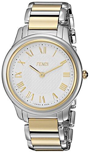 Fendi Classico F251114000 40mm Silver Steel Bracelet & Case Synthetic Sapphire Men's Watch