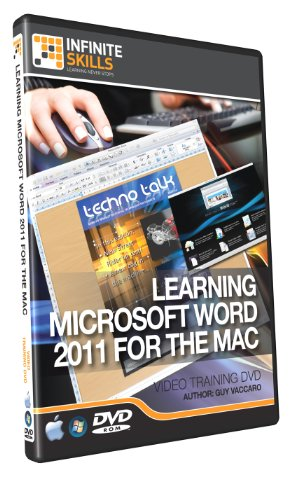 Microsoft Word 2011 for the Mac - Training DVD