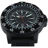 Military Royale Swiss Design Quartz Mens Designer Best Watches Black Bands MR051