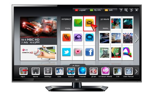 LG 60IN PROSUMER SMART LED HDTV
