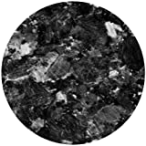 "CoasterStone NC16 Absorbent Coasters, 4-1/4-Inch, ""Black Marble"", Set of 4"
