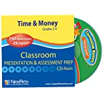 NewPath Learning Time and Money Skills Interactive Whiteboard CD-ROM, Site License, Grade 2-4