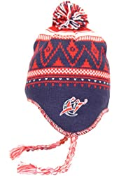 Adidas NBA Peruvian Winter Pattern Pom Top Knit Hat