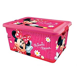 boite de rangement minnie mouse jeux et jouets. Black Bedroom Furniture Sets. Home Design Ideas