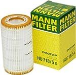 Mann-Filter HU 718/5 X Metal-Free Oil...