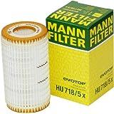 Mann-Filter HU 718/5 X Metal-Free Oil Filter ~ Mann Filter